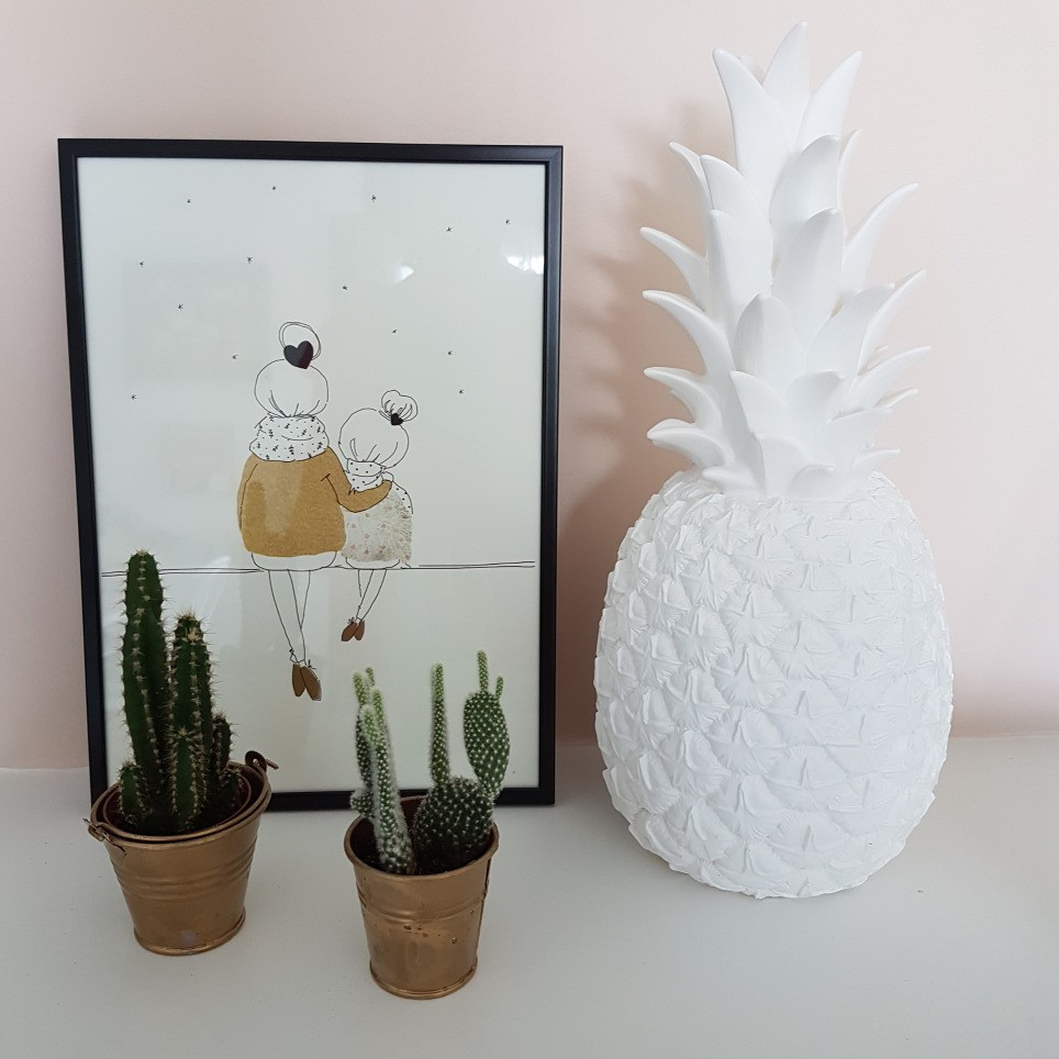 Ananas Poser Lampe À Blanc Goodnight Light 2EDY9WHI
