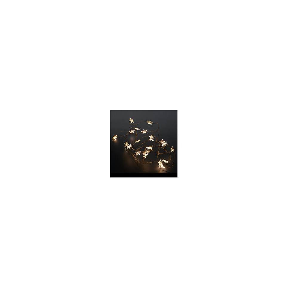 petite guirlande lumineuse étoiles 2m