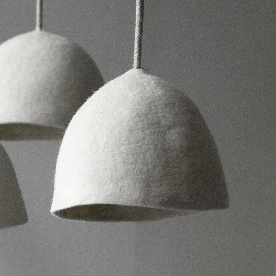 suspension toque ronde design ledition. Black Bedroom Furniture Sets. Home Design Ideas