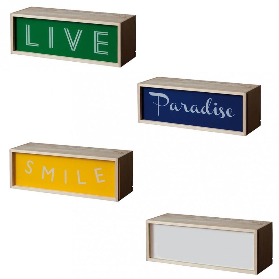 Lighting Box allongée 30x10,5cm
